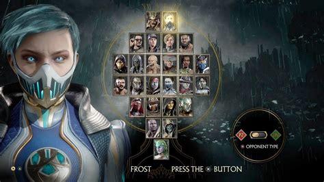Mortal Kombat 11 Full Roster