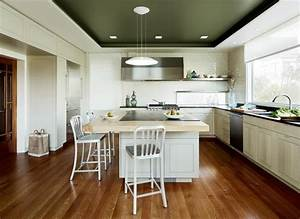 modern kitchen ideas no wall cabinets kitchen and decor With kitchen design with no top cabinets