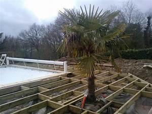 Eclairage Piscine Bois : faire une terrasse en bois vannes arbor min ral ~ Edinachiropracticcenter.com Idées de Décoration