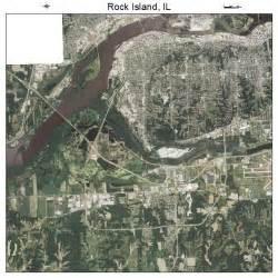 kitchen rock island il aerial photography map of rock island il illinois