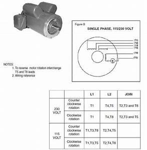 Leeson Single Phase Motor Wiring Diagram
