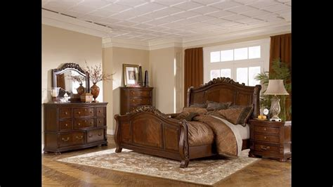 ashley furniture bedroom set marble top youtube