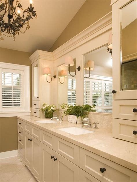 traditional tall bathroom cabinet ideas