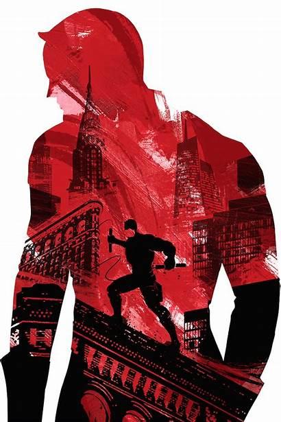 Daredevil Fan Artwork Marvel Wallpapers Portrait Display