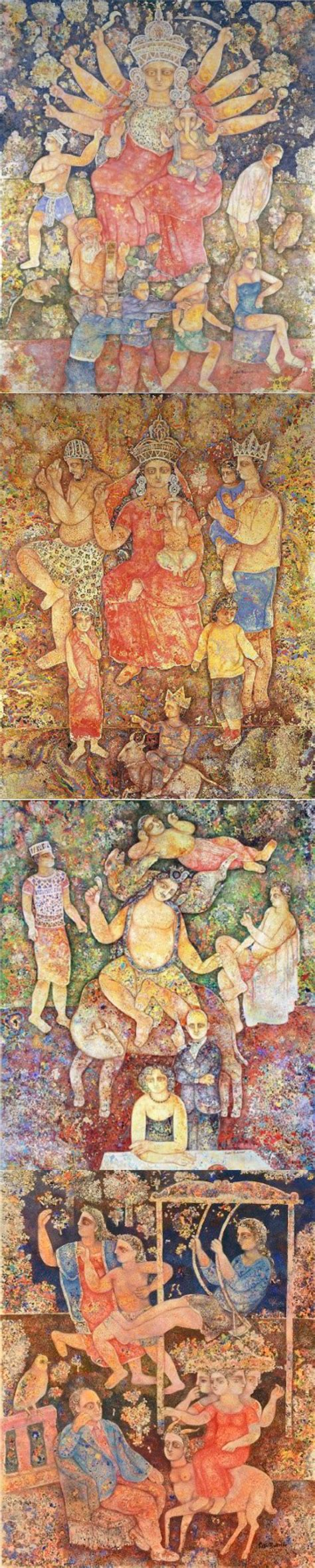 Sakti Burman - Artist Biography, Paintings, Artworks ...