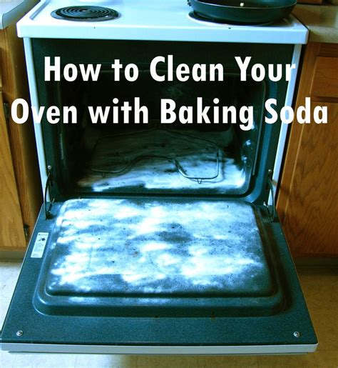 how to clean the oven pinterest find how to clean your oven with baking soda