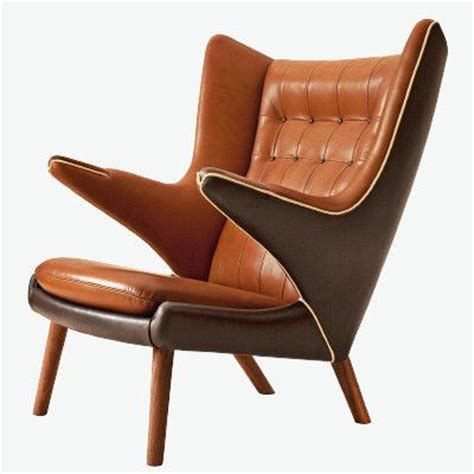 ourso designs history lesson hans wegner papa bear chair