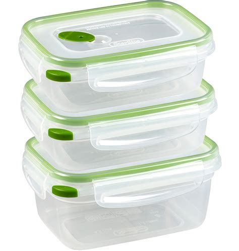 container cuisine food storage containers with lids set of 20 in plastic