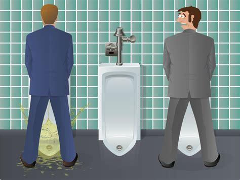 unfortunate physics  male urination
