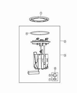 Dodge Grand Caravan Module Kit  Fuel Pump  Level Unit   3