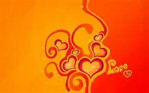 Abstract Love Yellow & Orange wallpapers | Abstract Love ...
