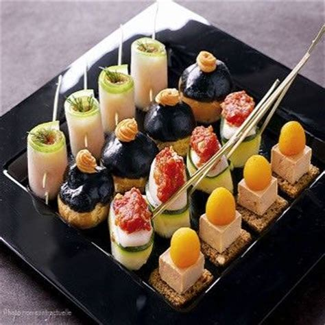 posh canapes recipes gorgeous canapes food tables