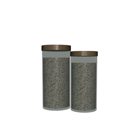 ikea kitchen canisters thenumberswoman 39 s ikea inspired faktum kitchen canisters 3