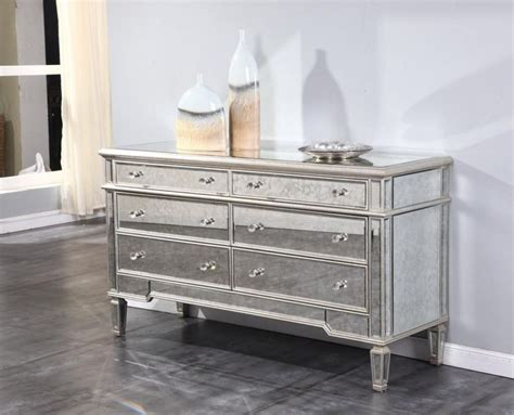 Sideboards Astounding Mirrored Buffet Cabinet Mirrored