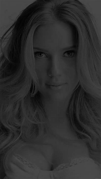Iphone Scarlett Johansson Smile Celebrity Dark Wallpapers