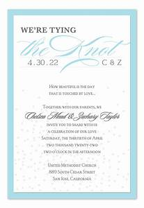 layered knot confetti wedding invitations by invitation With the knot wedding invitation language