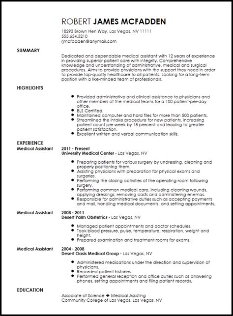 Sle Resume Patient Care Assistant by Free Traditional Assistant Resume Template