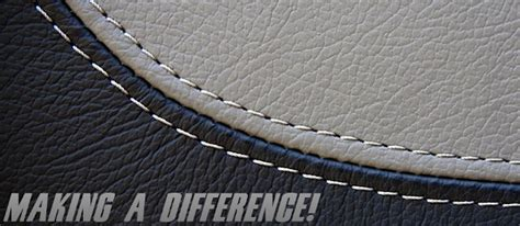 Auto Upholstery Shops Making A Difference