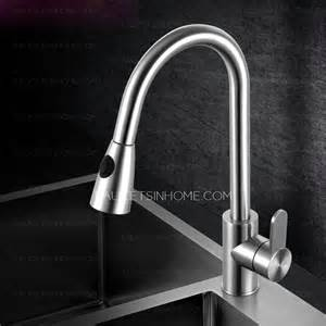high end kitchen faucet high end pullout shower water stainless steel kitchen faucet