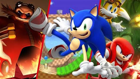sonic  hedgehog game ranked feature