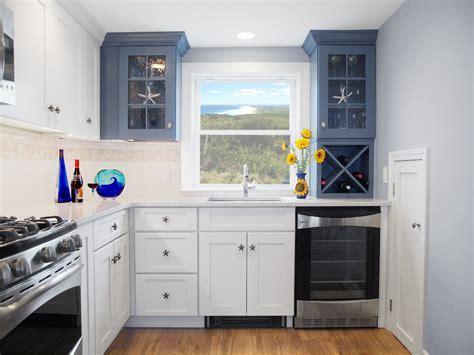 kitchen cabinet knobs Kitchen Beach with blue cabinets