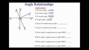 Angle Relationships In A Complex Diagram