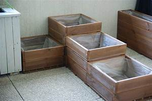 Fabriquer Un Potager Surélevé En Bois : fabriquer un carr potager pour balcon ou terrasse jardinage pinterest carr potager ~ Melissatoandfro.com Idées de Décoration