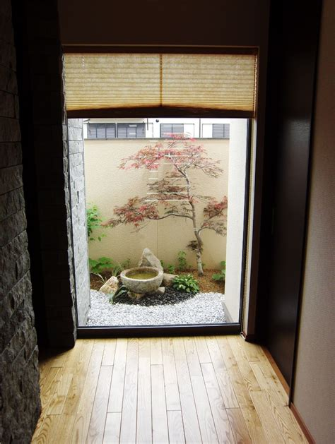 Japanischer Garten Balkon by 玉井様邸 坪庭2 Outside Ideas Japan Garden Small Japanese
