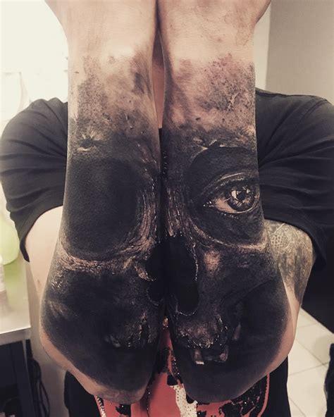 grim reaper holding  lantern  tattoo design ideas