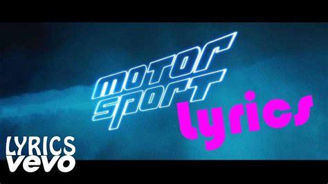 Motorsport Nicki Minaj Lyrics by Migos Nicki Minaj Cardi B Motorsport Lyrics Lyrics