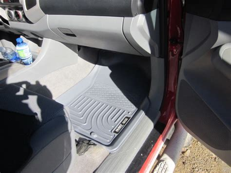 weathertech floor mats vs oem floor mats weathertech vs oem all weather tacoma world autos post
