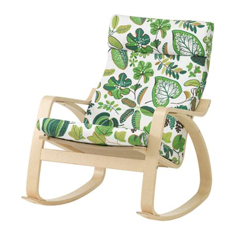 Ikea Poang Chair Cushion Uk by Po 196 Ng Rocking Chair Simmarp Green Ikea