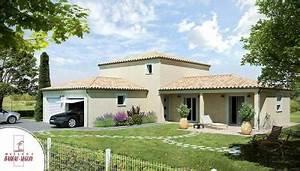 modele et plan de maison provenciere par le constructeur With charming plan de maison 2 pieces 4 maison babeau seguin