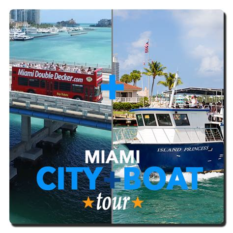 Miami Beach Boat Tours by Miami Double Decker City And Boat Tour Miami Beach Guest