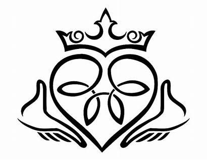 Clip Claddagh Designs Celtic Irish Symbols Symbol