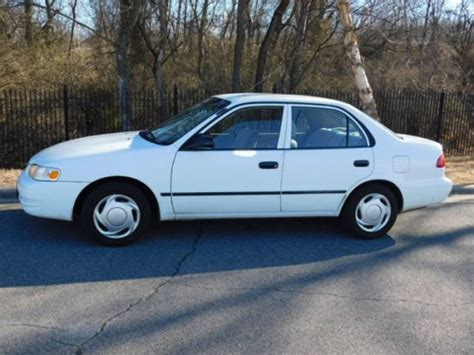 2000 Toyota Corolla Ce by 2000 Toyota Corolla Ce For Sale Used Cars On Buysellsearch