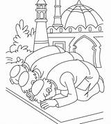Ramadan Coloring Pages Eid sketch template