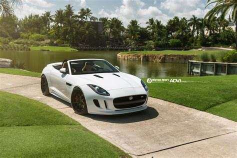 2014 Adv1 Wheels Jaguar-f-type Convertible Cars Wallpaper