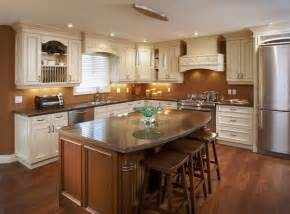 l kitchen with island layout how to layout an efficient kitchen floor plan freshome com