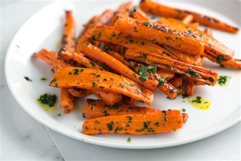 roasted carrots roasted carrots recipe with parsley butter