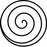 Spiral Clip Clipart sketch template