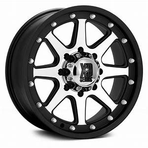 XD SERIES® ADDICT Wheels - Matte Black with Machined Face Rims
