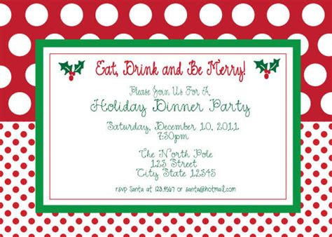 printable christmas invitations christmas party invitation templates