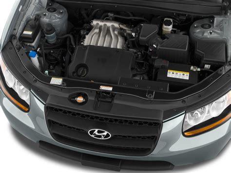 Hyundai Santa Fe Engine Size image 2009 hyundai santa fe fwd 4 door auto gls engine