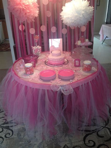 tutu baby shower decorations  kevyn slayton ideas