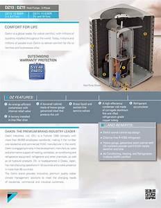 7 5 Ton Daikin Split Heat Pump Condenser Only 208  230v Or 460v 3 Phase