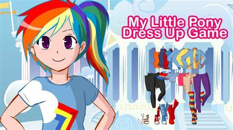 games pony dress game horse play equestria