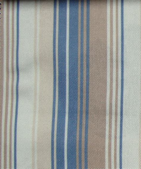 Material For Curtains Uk by Blue Stripes Curtain Fabric