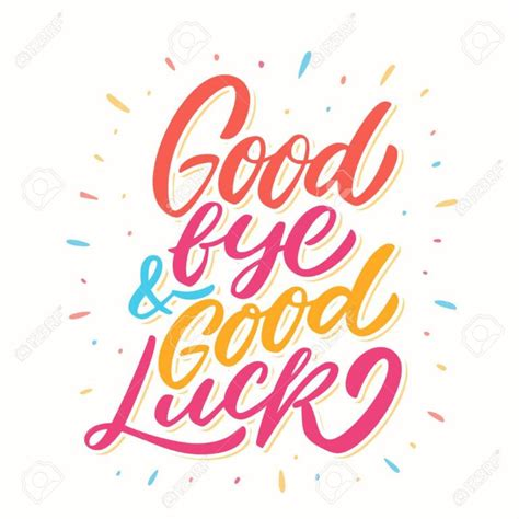 goodbye  good luck farewell card  regard
