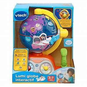 Globe Terrestre Enfant : lumi globe interactif globe terrestre enfant vtech ~ Teatrodelosmanantiales.com Idées de Décoration